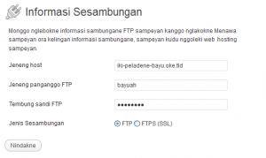 WP Connection Information 3.4.2 jv_ID