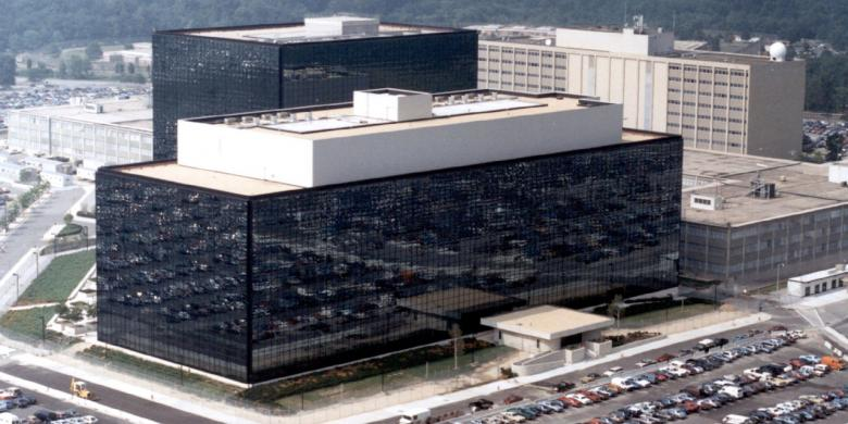 Kantor pusat NSA di Fort Meade, Maryland, AS