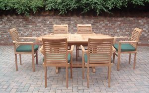 set table and chairs outdoor