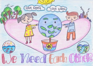 we need each other, earth :')