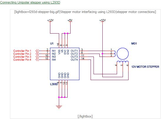 Stepper Motor Driver Ic L297 Priorityhalo